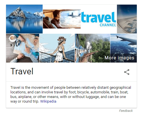 travel knowledge graph