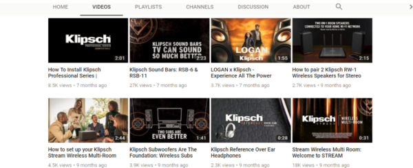 youtube product descriptions and thumbnails