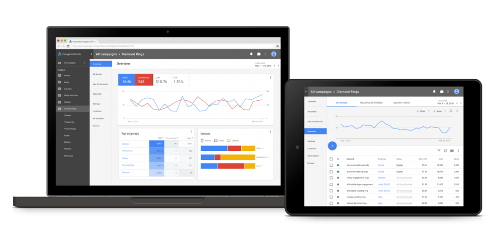 New-Adwords-Interface