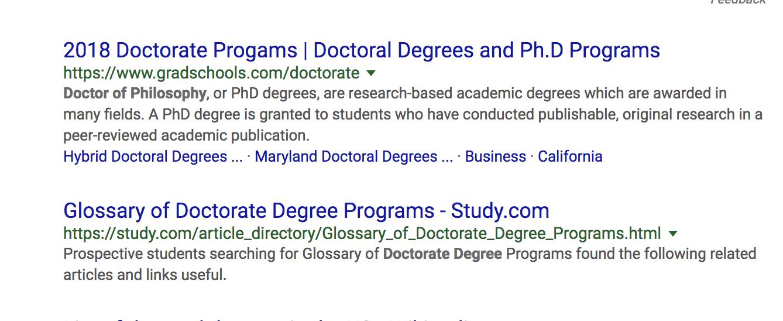 synonym in google search
