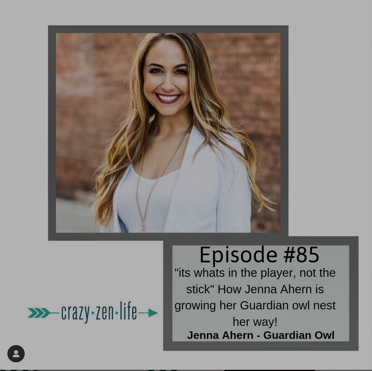CEO Featured on Crazy Zen Life Podcast