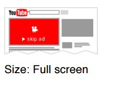 Youtube skipable ads